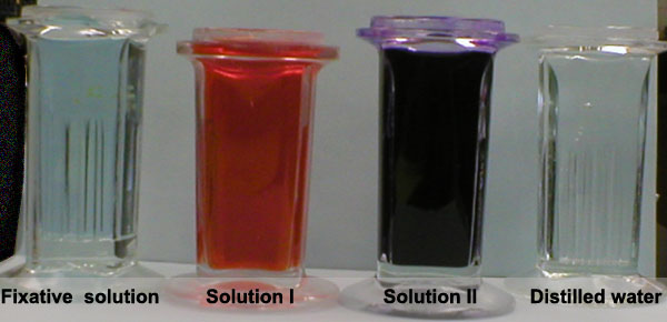 preparation of films for staining Control thickness of the smear by changing the angle of spreader slide allow the  blood film to air-dry completely before staining (do not blow to dry.